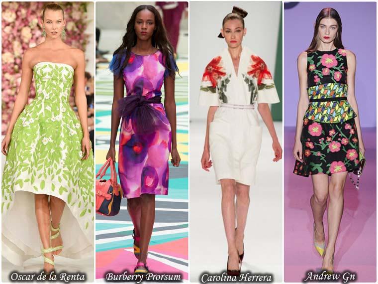 Rochii la moda sezon vara 2015
