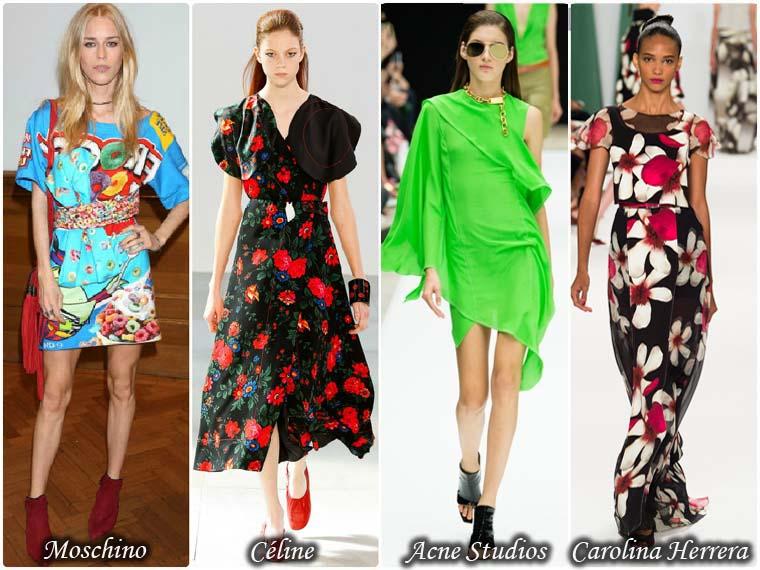 Rochii colorate dama la moda vara 2015