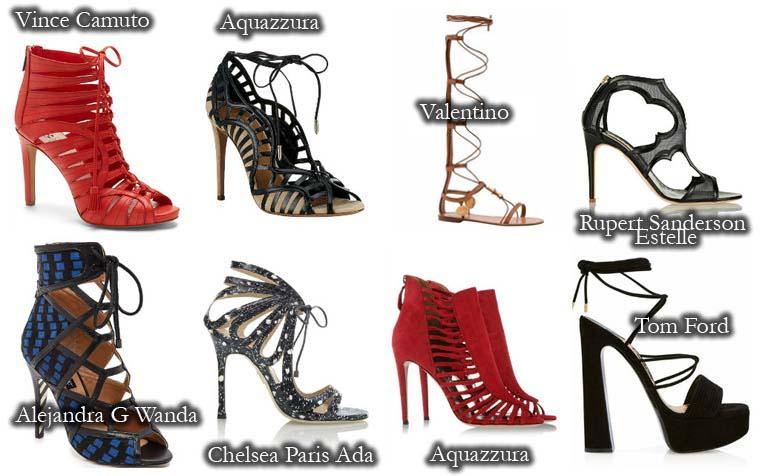 Sandale dama vara 2015 cu perforatii
