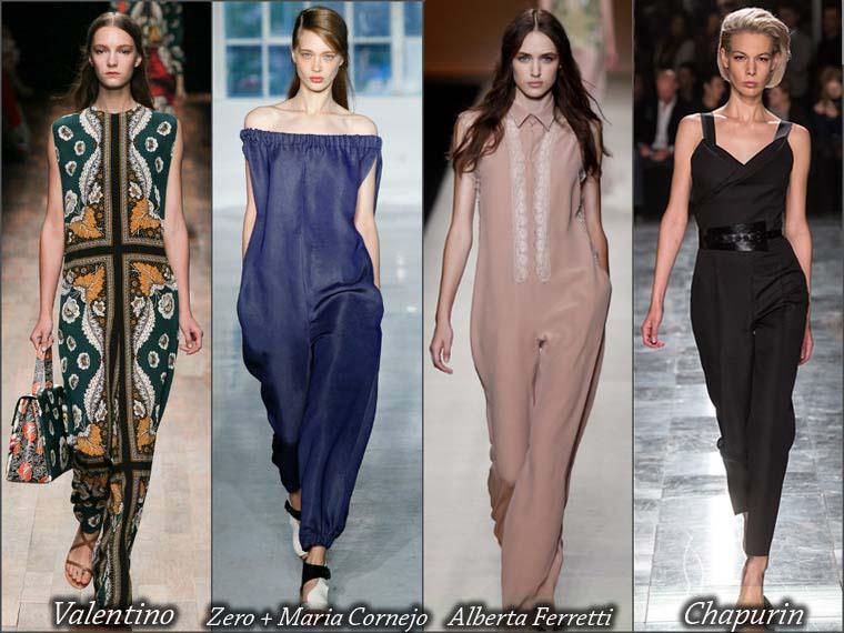 Salopeta dama la moda vara 2015