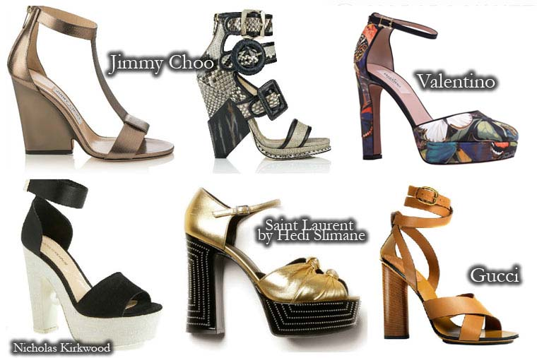 Sandale toc gros la moda vara 2015