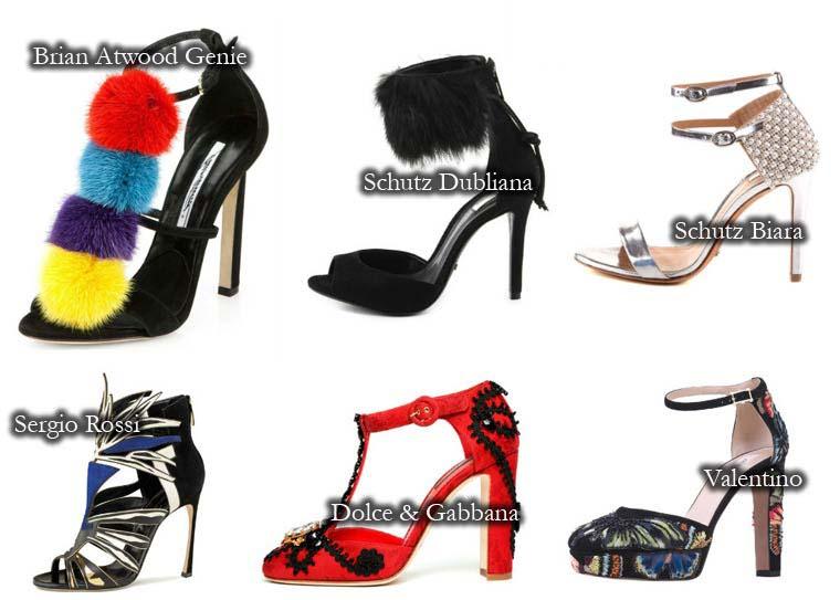 Accesorii sandale de vara 2015