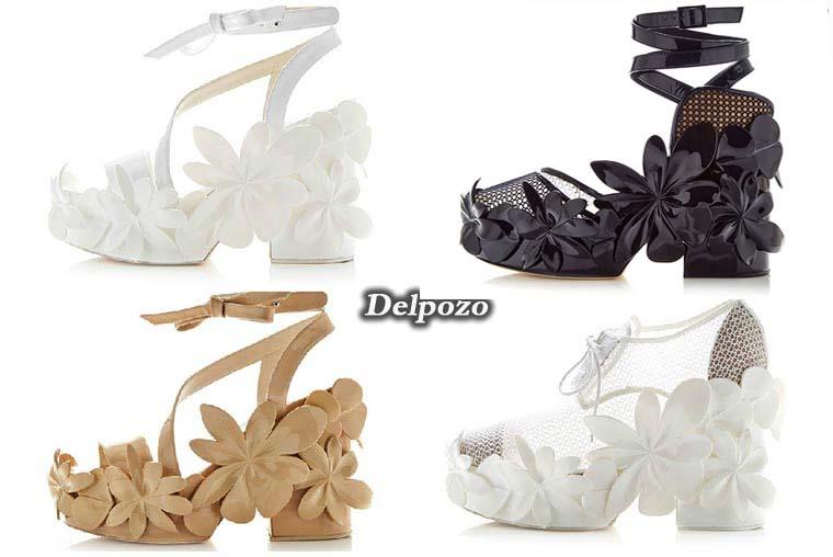 Sandale dama vara 2015 de la Delpozo