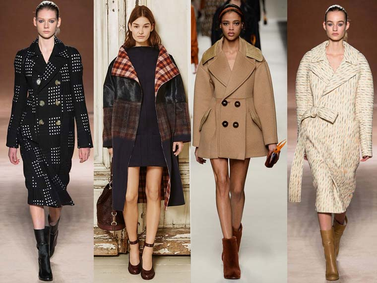 Paltoane la moda toamna-iarna 2015-2016