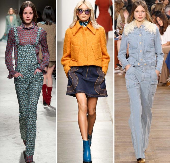 Tendinte moda toamna-iarna 2015-2016 revenirea anilor 70