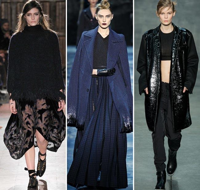Tendinte moda toamna-iarna 2015-2016 glamour gotic
