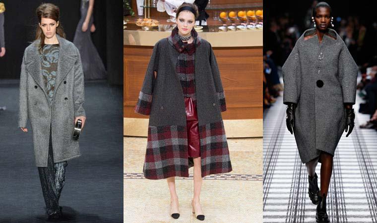 Palton oversize toamna-iarna 2015-2016