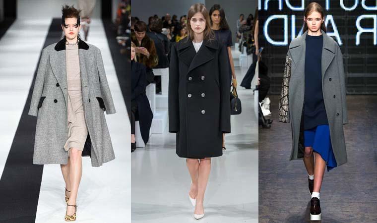 Palton stil oversize toamna-iarna 2015-2016