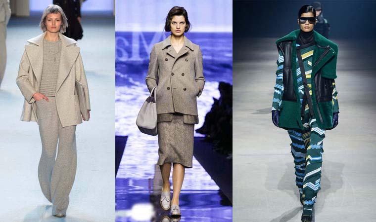 Palton in culoarea hainei toamna-iarna 2015-2016