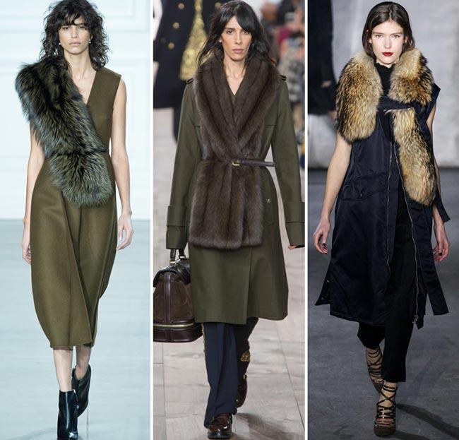 Tendinte moda toamna-iarna 2015-2016 esarfa de blana