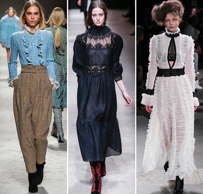 Tendinte moda toamna-iarna 2015-2016 stilul victorian si Edwardian