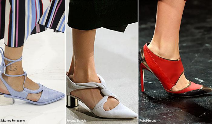 Ce pantofi se poarta in 2016