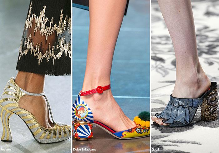 Pantofi 2016 cu toc mediu
