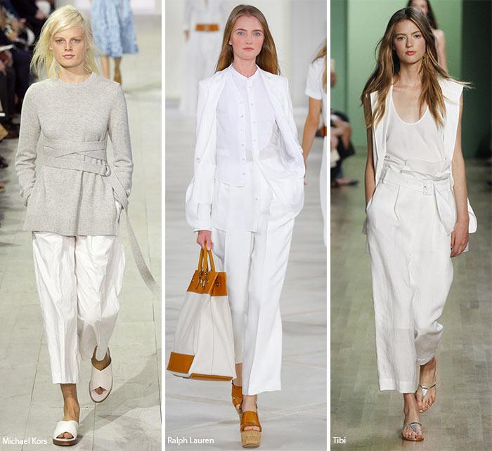 Tendinte moda primavara vara 2016 : Pantalonii largi pana la glezna