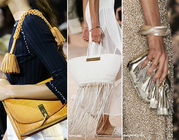 Geanta 2016 cu franjuri la moda