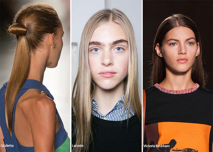 Parul drept la moda in 2016
