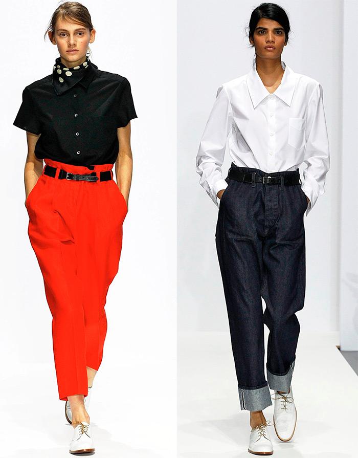Bluze-camasi cu pantaloni