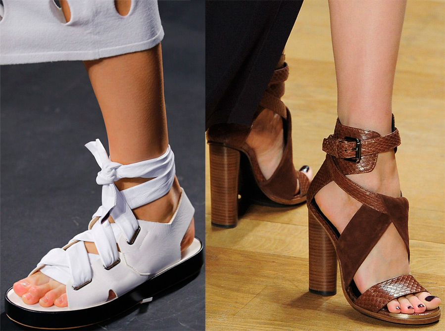 Ce sandale se poarta primavara 2016