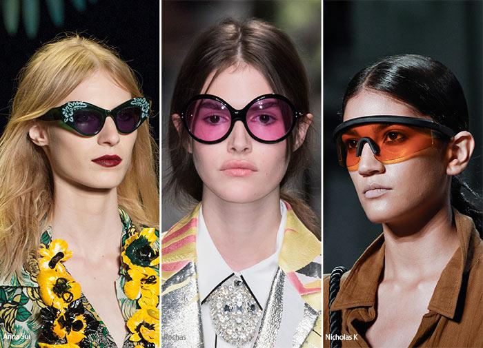 Ochelari de soare dama 2016 primavara vara: lentile