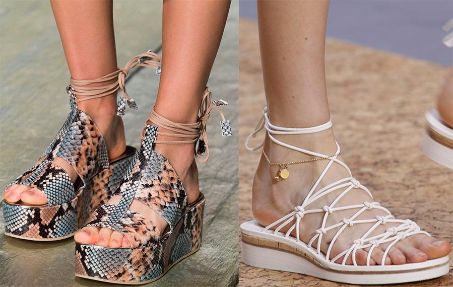 Ce sandale se poarta in 2016