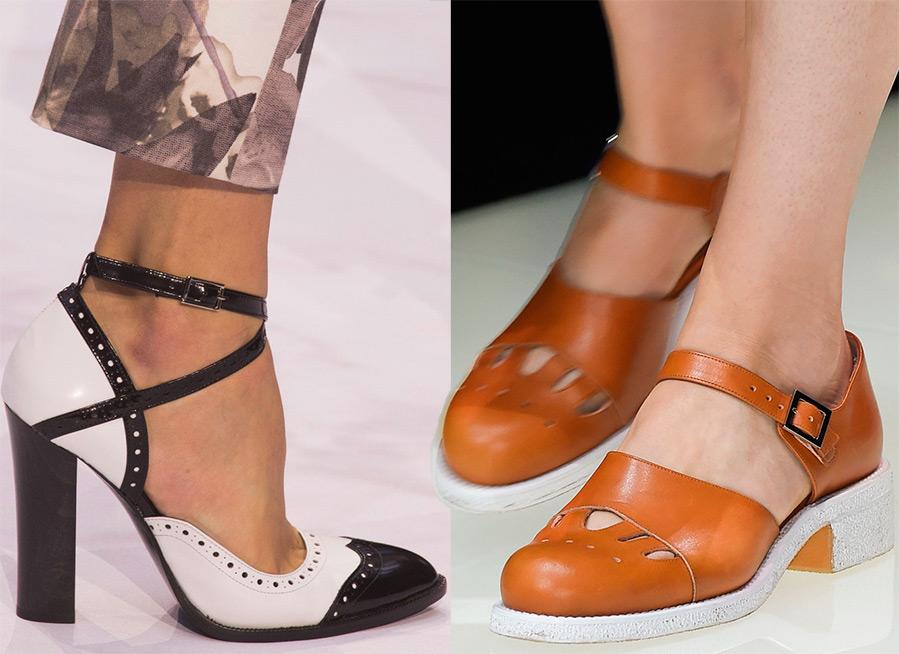 Pantofi dama 2016 cu toc mediu