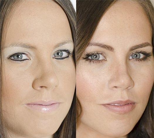 Linia de eyeliner ritusata si neretusata