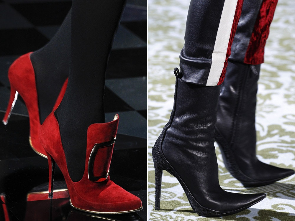 High heeled Fall 2016 footwear