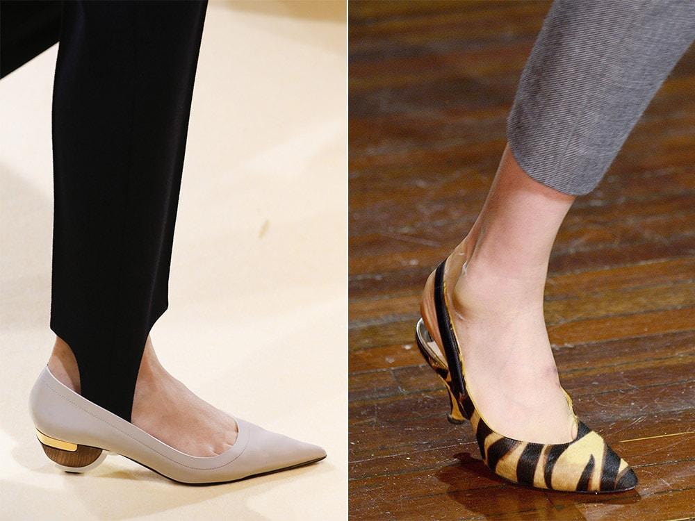 Pantofi dama eleganti 2017 toc mic