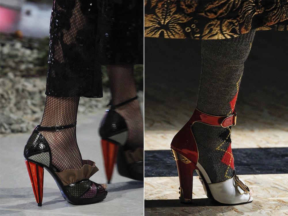 Pantofi toamna iarna 2016 2017 decupati