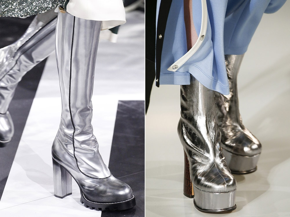 Silver boots winter 2016