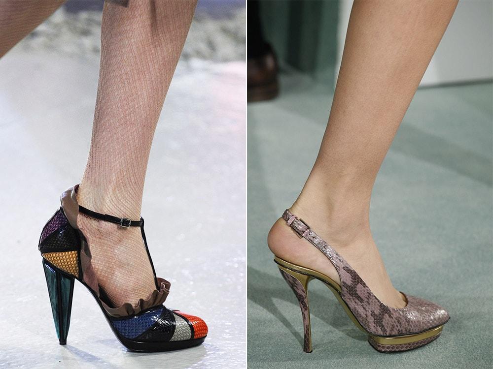 Pantofi din piele iarna 2017