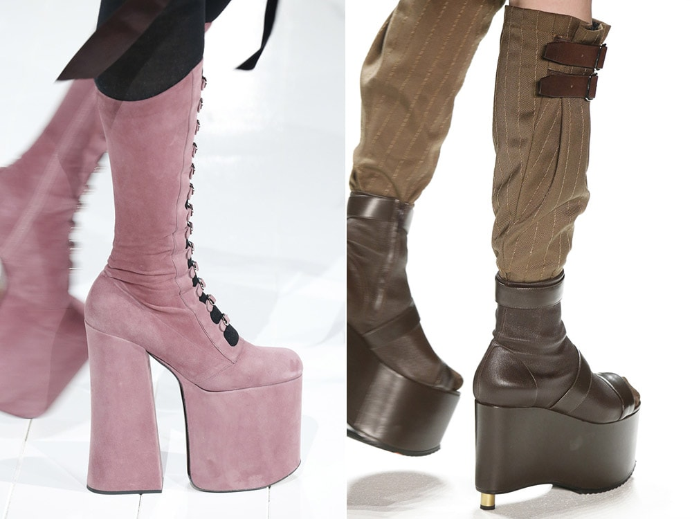 High heeled comfortable boots 2016 2017