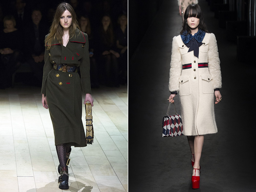 Palton dama la moda