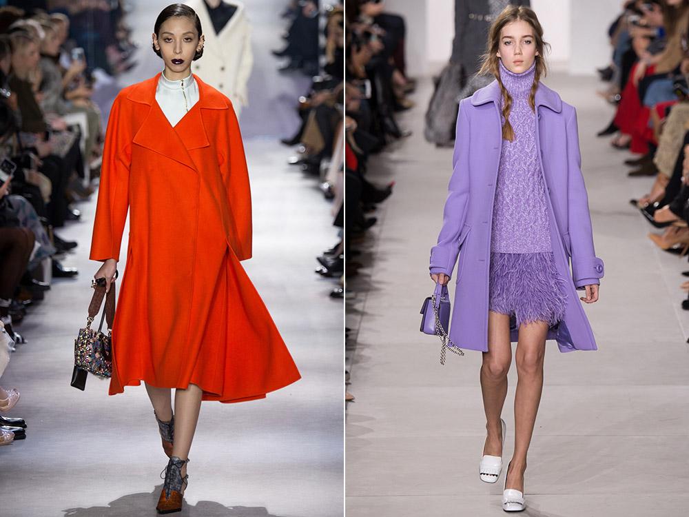 Paltoane dama toamna iarna 2016 2017: culori