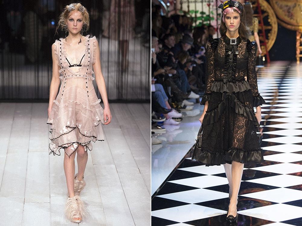 Modele in stil gotic