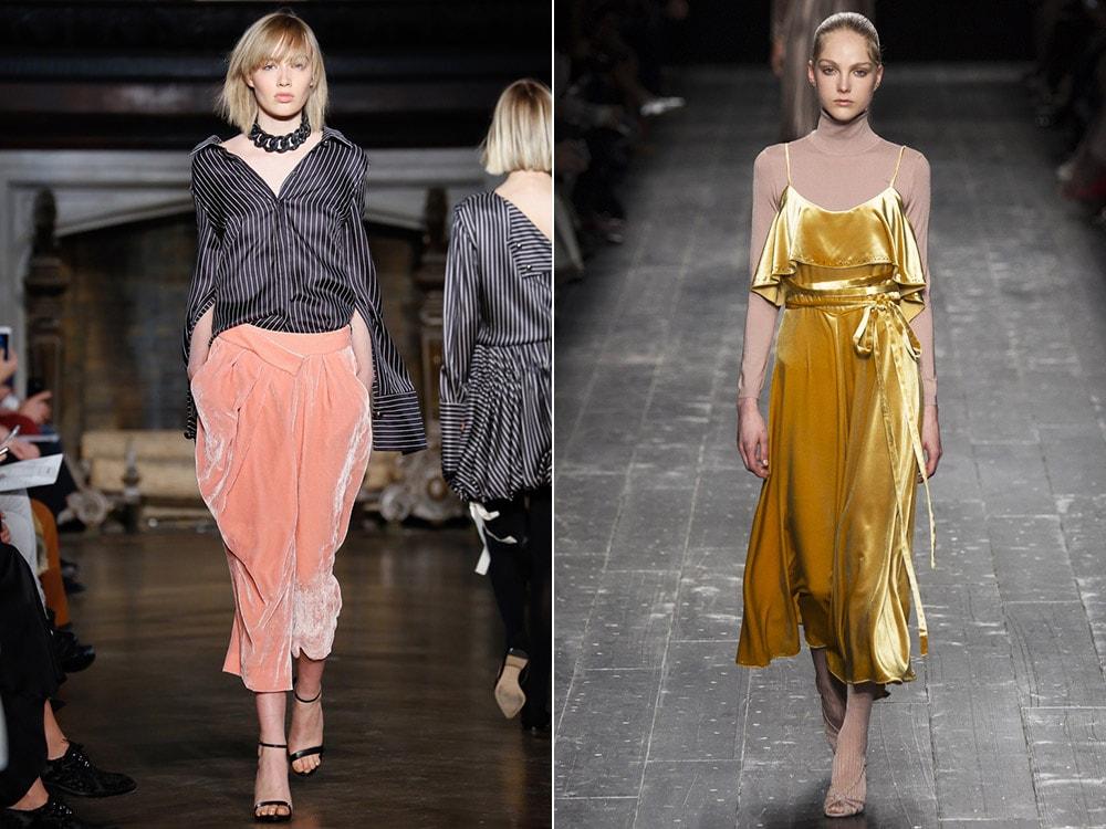 Tendinte moda toamna iarna 2016 2017: catifea