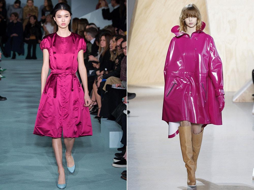 Tendinte moda toamna iarna 2016 2017: fucsia