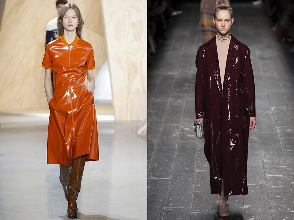Tendinte moda toamna iarna 2016 2017: vinil
