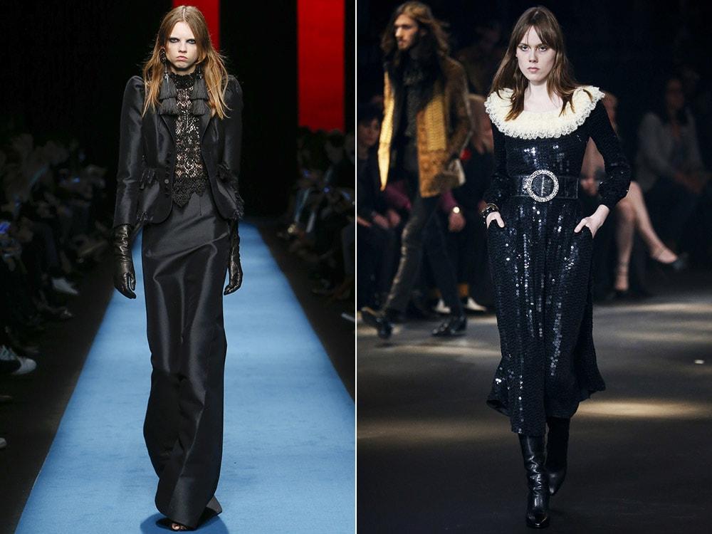 Tendinte moda toamna iarna 2016 2017: stil gotic