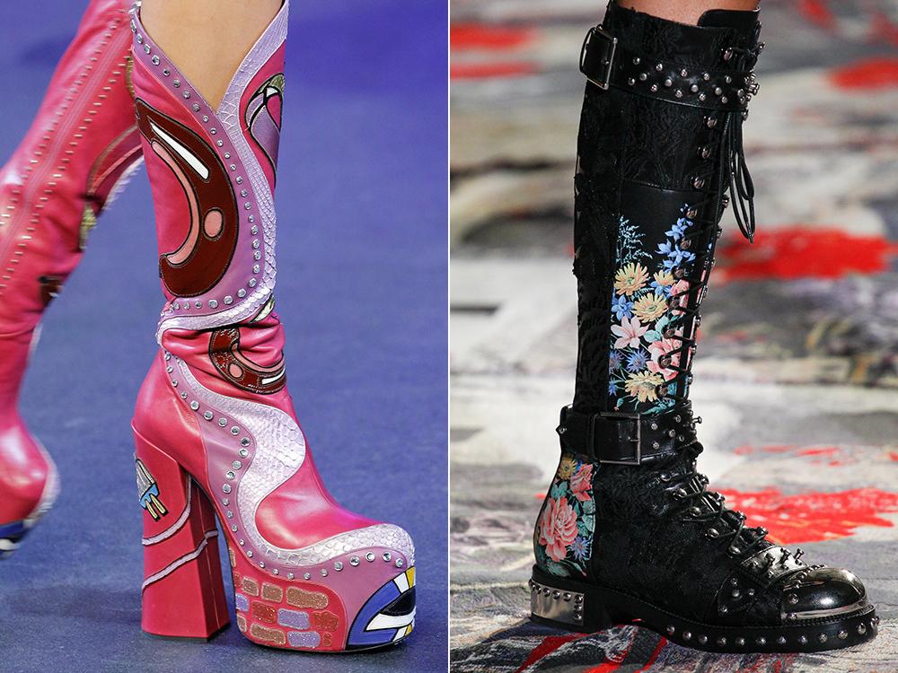 Cizme la moda primavara 2017