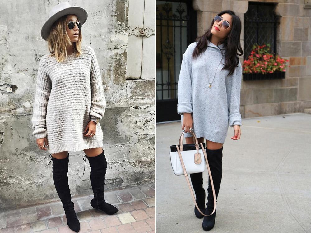 cu rochie pulover