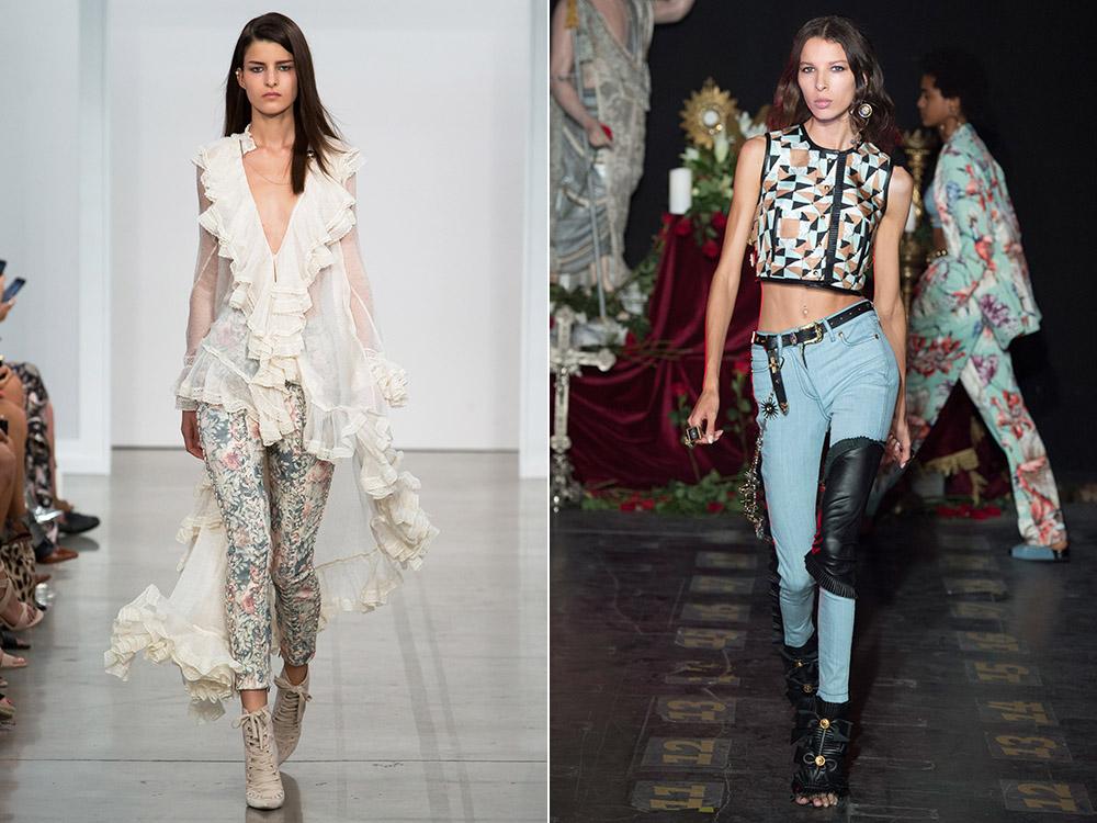 Jeansi skinny la moda in 2017