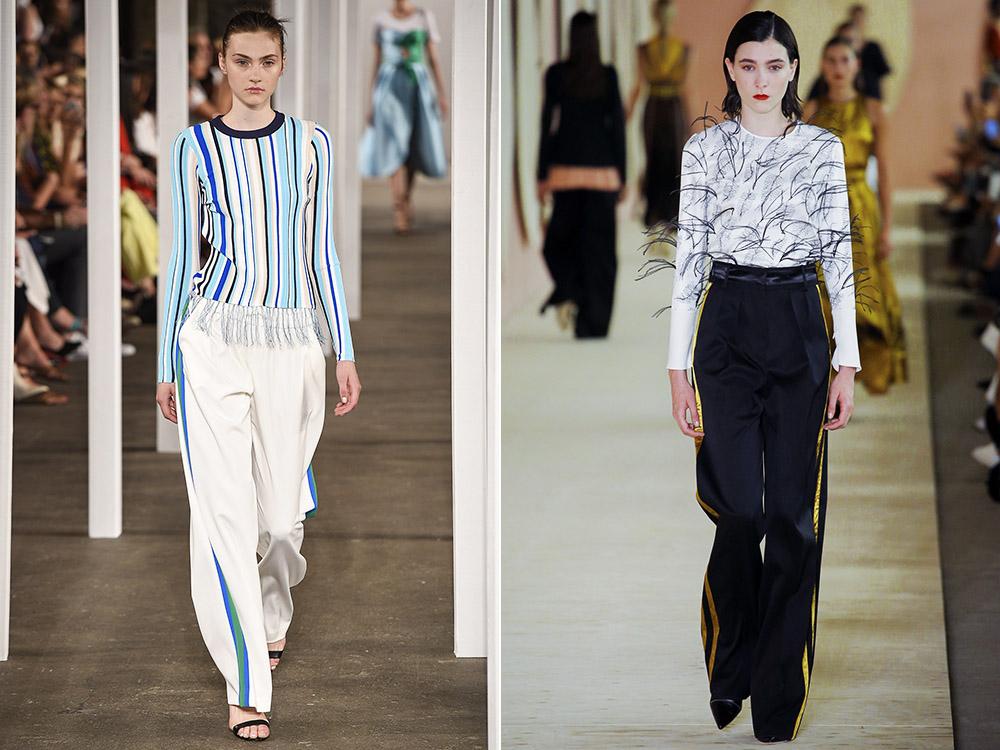Pantaloni cu vipusca 2017