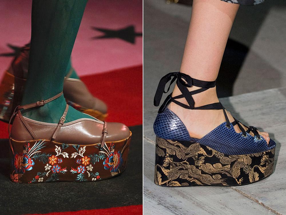 Pantofi dama 2017 platforma