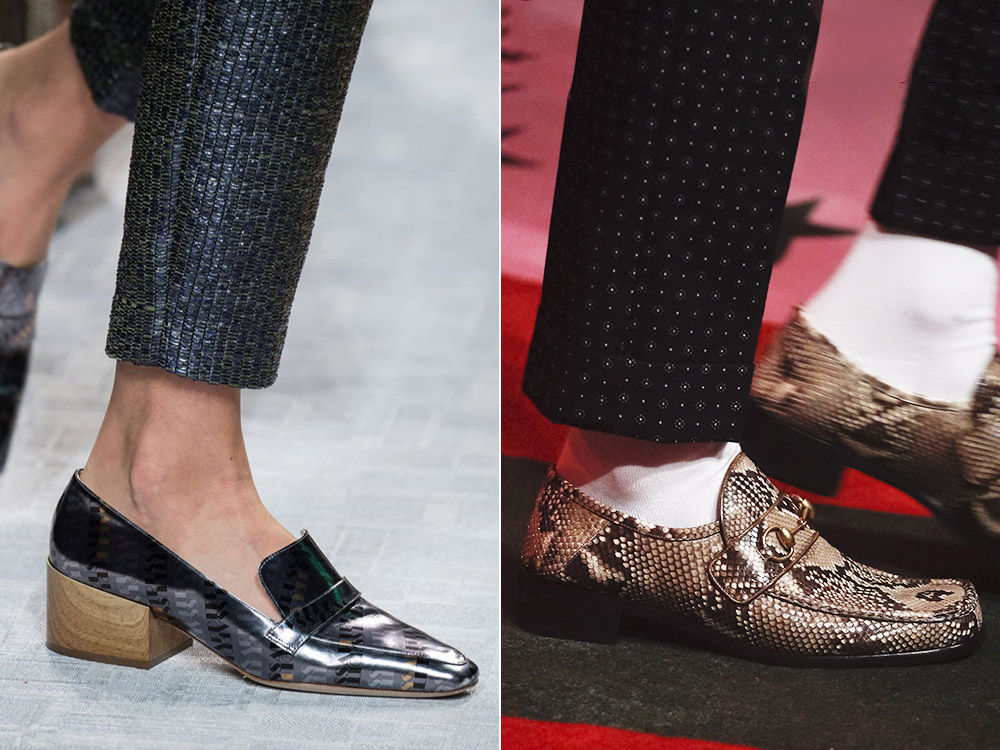Pantofi dama in stil masculin