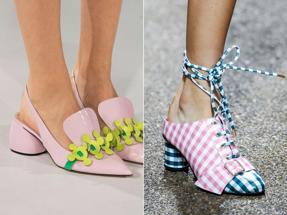 Pantofi fete stilati