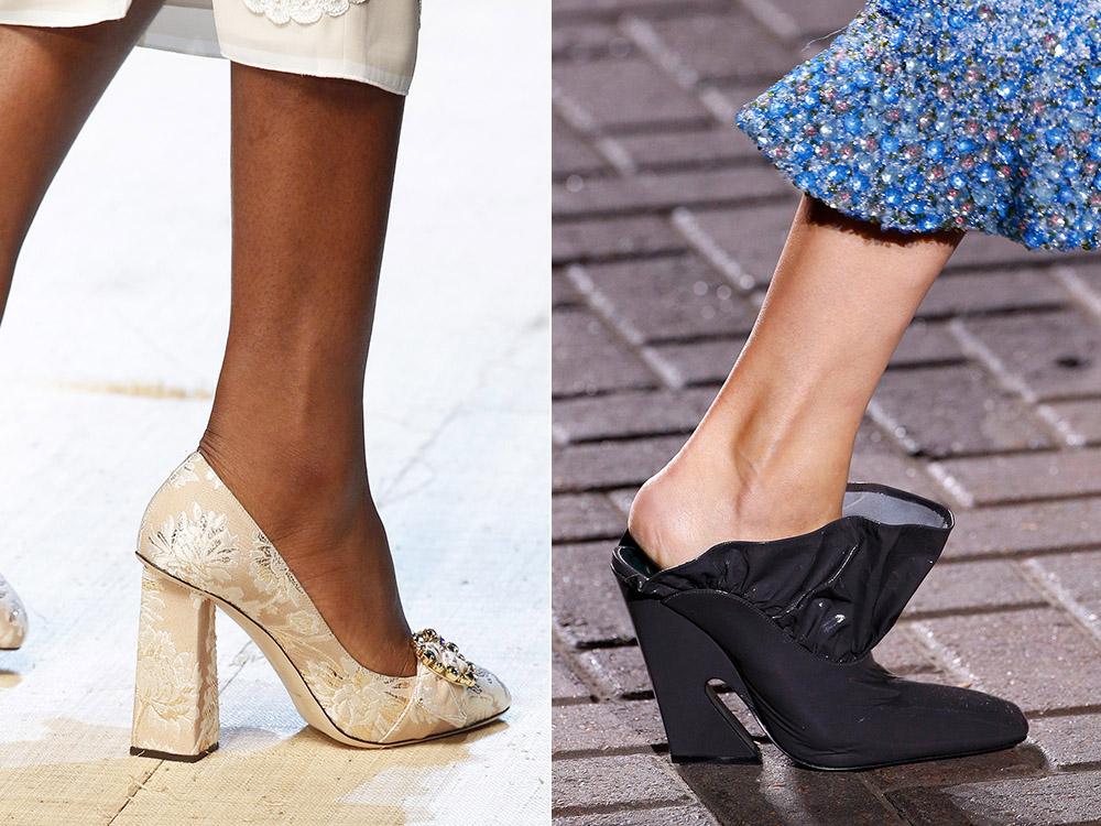Pantofi cu toc 2017