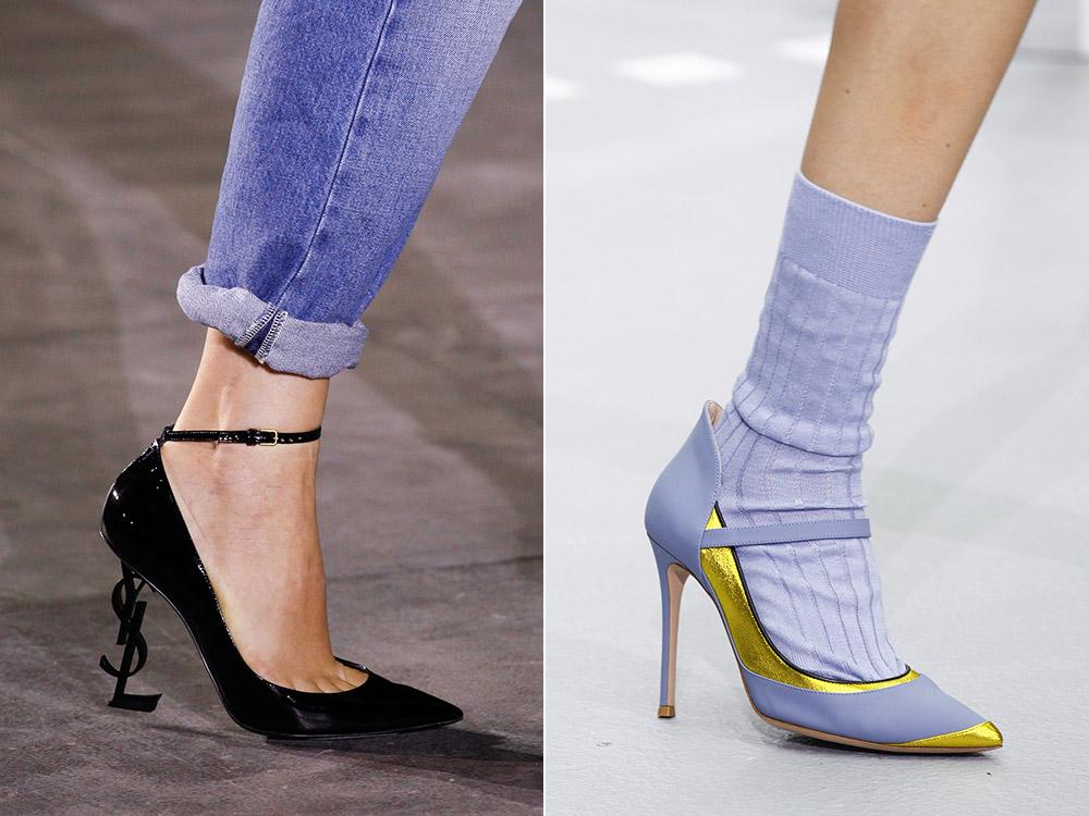 Pantofi stiletto primavara vara 2017