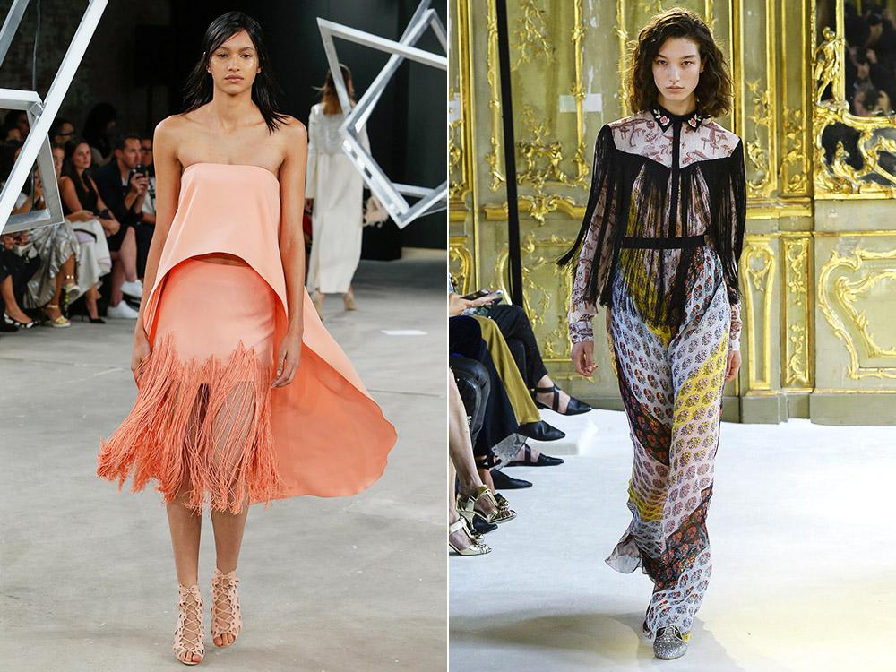 Franjuri la moda primavara vara 2017