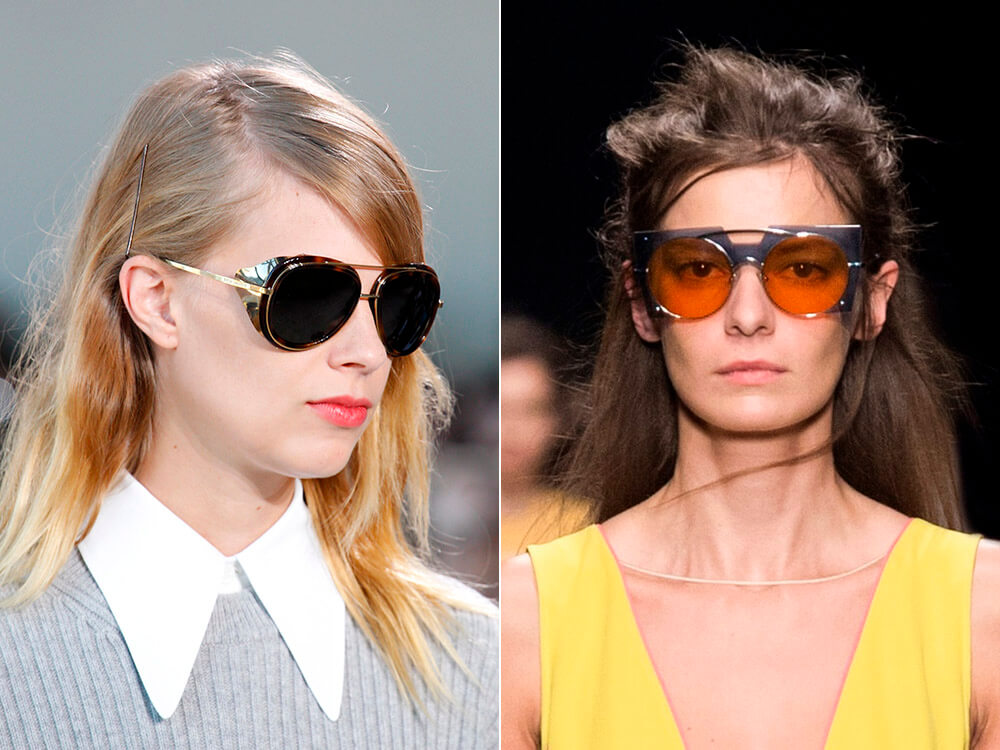 Ochelari de soare 2017 cu punte dubla